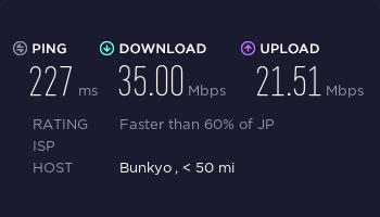 ExpressVPN日本服务器速度测试