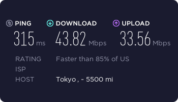 expressvpn speed test usa 1