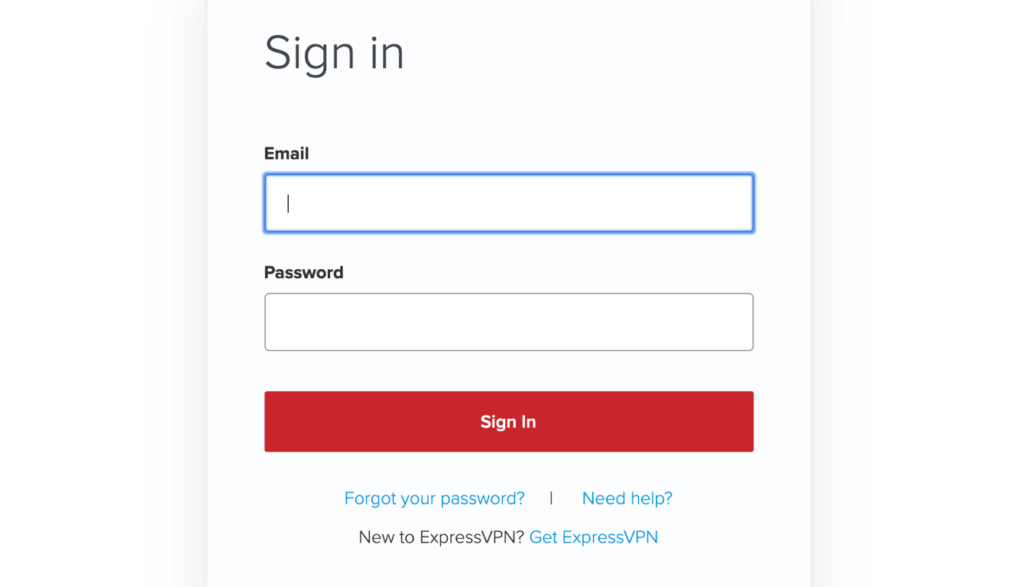 expressvpn账户登录