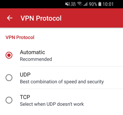 expressvpn-android-切换vpn协议