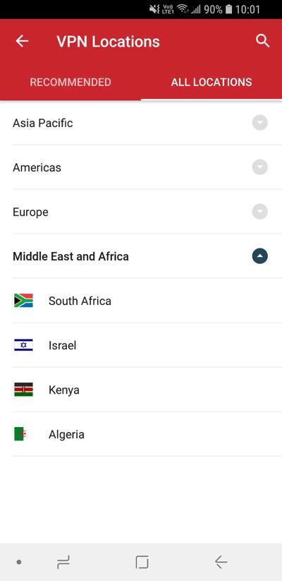 expressvpn-android-所有服务器