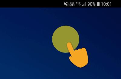 expressvpn-android-长按住屏幕