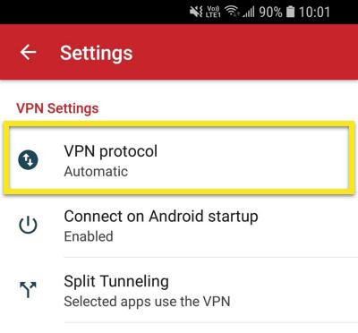 expressvpn-android-vpn协议