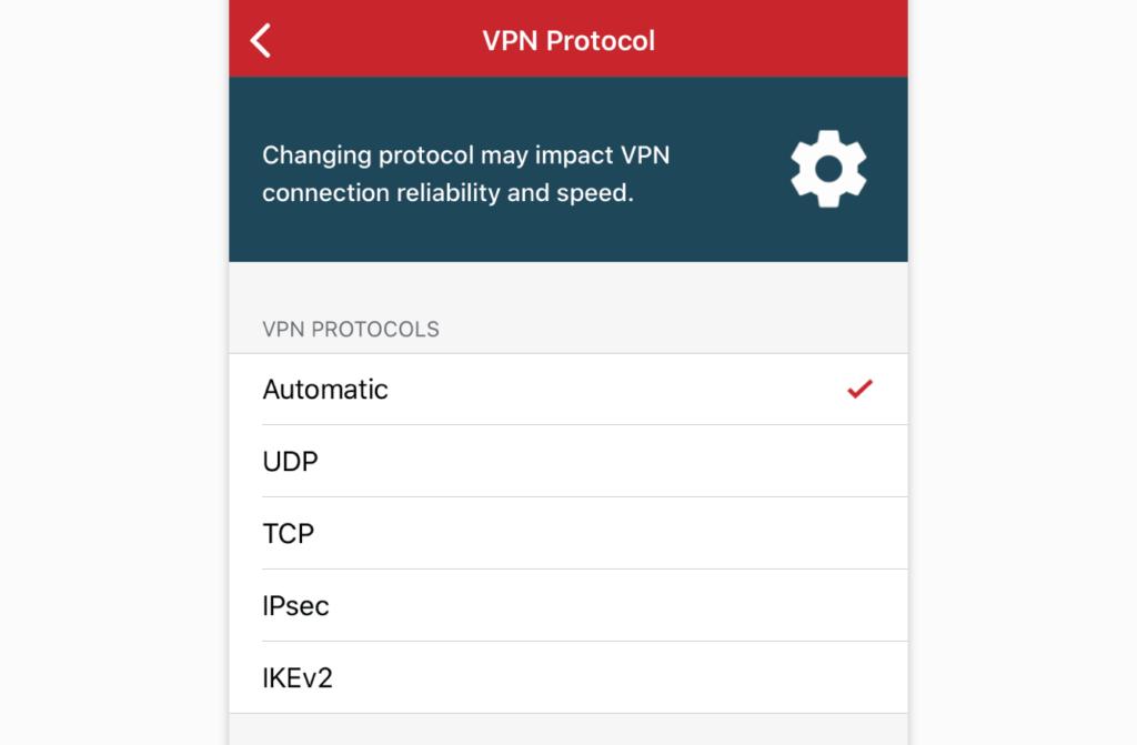 expressvpn-ios-切换VPN协议