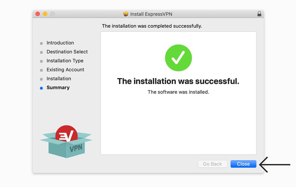 expressvpn mac安装成功