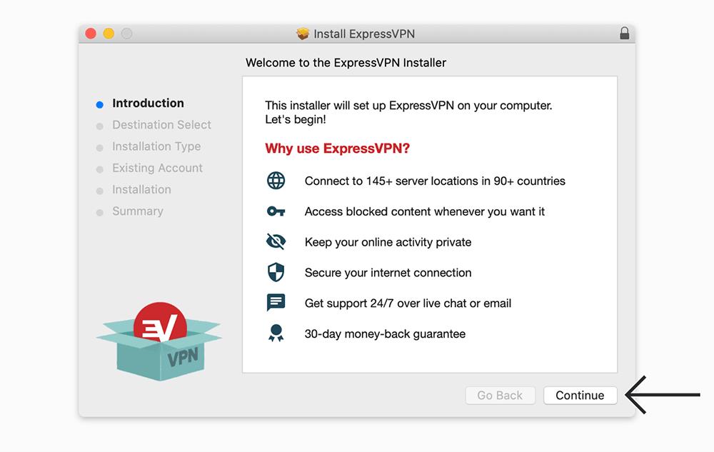 expressvpn mac安装
