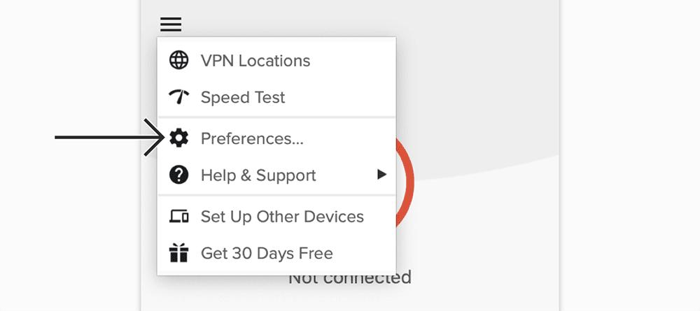 expressvpn mac界面设置