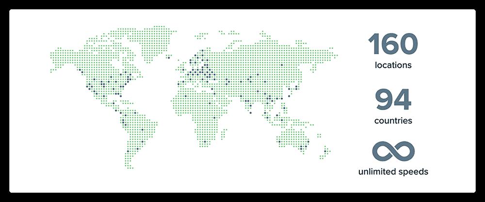 expressvpn全球服务器分布