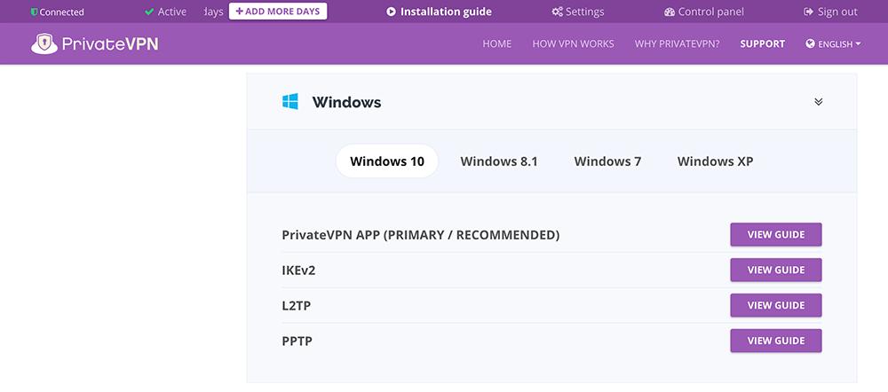 privatevpn下载与安装