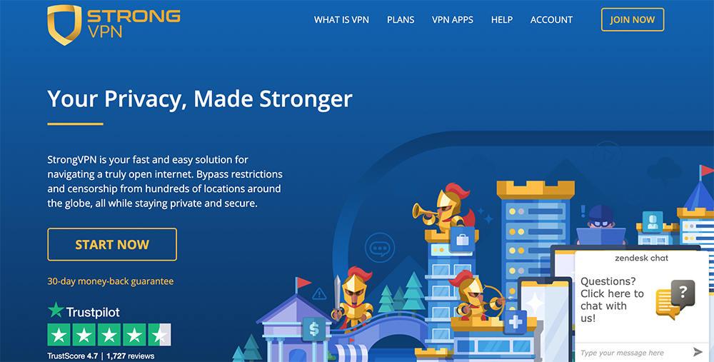 strongvpn官方网站