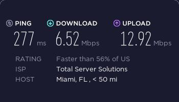 surfshark美国服务器速度测试